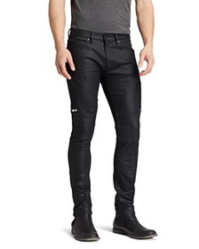 HUGO - 45 Moto Slim Fit in Black