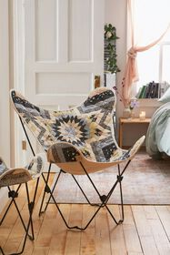 Quilted Butterfly Chair Cover