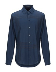 VERSACE - Solid color shirt