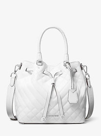 Michael Kors Blakely Medium Quilted Leather Bucket