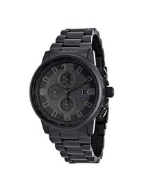 Citizen Men's Eco-Drive Night Hawk Chronograph Wat