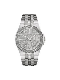 Bulova Men's Swarovski Crystal Stainless Steel Wat