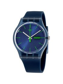 Swatch Originals Blue Rebel Blue Dial Silicone Str