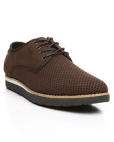 HAWKE & Co. jasper perforated lace-up derby shoes