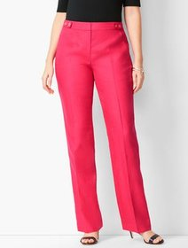 Talbots Talbots Windsor Linen Wide-Leg Pants - Cur
