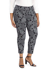 The Limited Plus Size Signature Ankle Pants in Exa