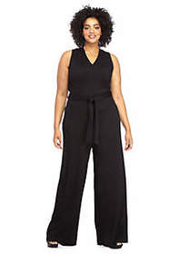 The Limited Plus Size Lightweight Ponte Jumpsuit