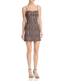 FRENCH CONNECTION - Whisper Leopard-Print Sweethea