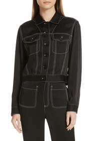 See By Chloe See by Chlo? Contrast Stitch Jacket