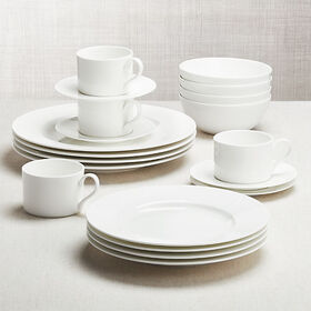 Crate Barrel Black and White Collection 20-Piece D