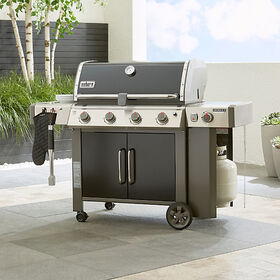 Crate Barrel Weber ® Genesis II LX E-440 LP Black