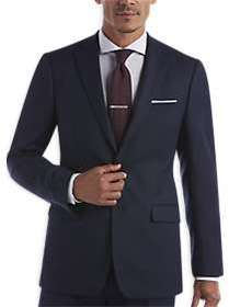 Calvin Klein X-Fit Blue Tic Slim Fit Suit