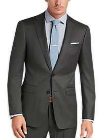 Calvin Klein X-Fit Gray Tic Slim Fit Suit