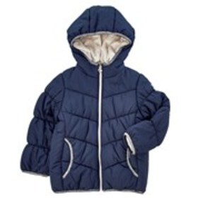 OSHKOSH Girls Hooded Puffer Coat with Fleece Linin