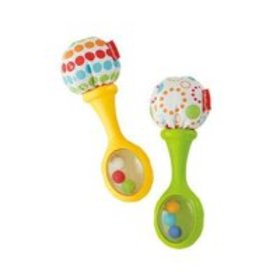 Fisher-Price Shake 'N' Rattle Maracas with Soft Po