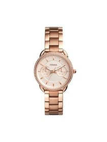 Fossil Women's Tailor Rose-Gold Stainless Steel Mu