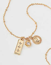 American Eagle AE Charm Necklace