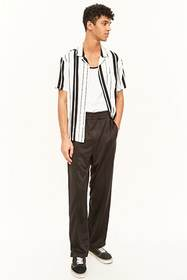 Forever21 French Seam Track Pants