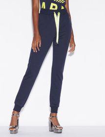 Armani SPORTY TROUSERS WITH CONTRASTING DETAILS