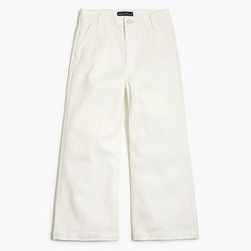 "J. Crew Factory 10"" highest-rise wide-leg jean in"