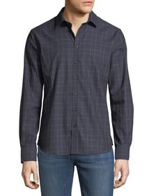 Neiman Marcus Men's Check Sport-Shirt