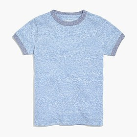 J. Crew Factory Boys' contrast ringer t-shirt in s