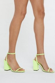 Nasty Gal Womens Yellow Don't Square What You Thin