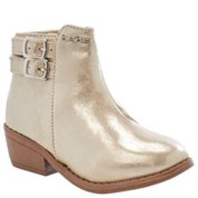 BEBE Bebe Toddler Girl Double Buckle Ankle Boots