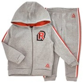 REEBOK Toddler Boys Stripe Trim Active Hoodie & Jo