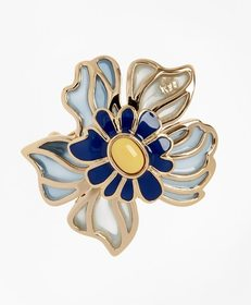 Brooks Brothers Small Floral Brooch