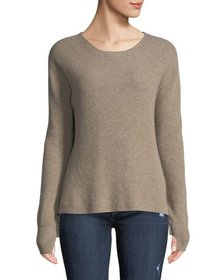 Neiman Marcus Cashmere Collection Cashmere Ruffle-