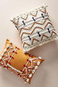 Anthropologie Vineet Bahl Embellished Pillow