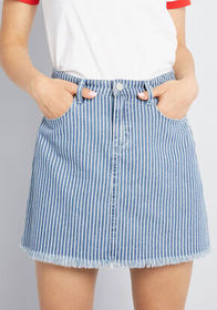 Blank NYC Blank NYC Scoping Things Out Denim Skirt