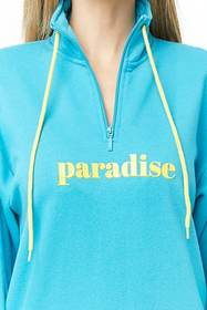 Forever21 Paradise Graphic Pullover