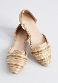 Restricted Restricted Well-Stepped Woven Loafer Na