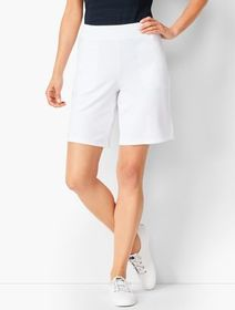 """Talbots 9"""" Essential Terry Shorts"""