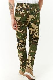 Forever21 Camo Drawstring Pants