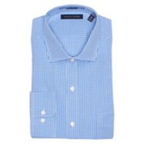 Mens Regular Fit Checkered Long Sleeve Shirt