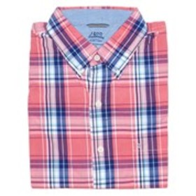 Big & Tall Classic Fit Plaid Print Short Sleeve Bu