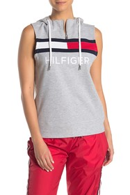 Tommy Hilfiger Sleeveless Hooded Pullover