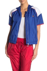 Tommy Hilfiger Short Sleeve Hooded Track Jacket
