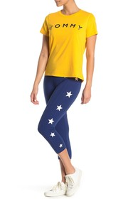 Tommy Hilfiger Star Side Knit Leggings