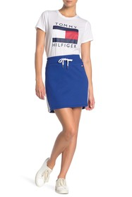 Tommy Hilfiger Colorblock Stripe Knit Skirt