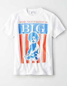American Eagle AE Notorious B.I.G. Graphic T-Shirt
