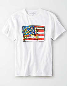 American Eagle AE X Keith Haring Graphic T-Shirt