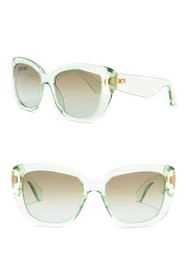 kate spade new york andris 54mm modified cat eye s