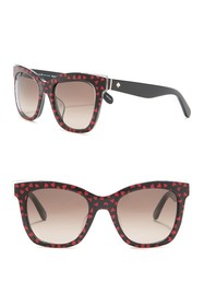 kate spade new york emmy 51mm square sunglasses