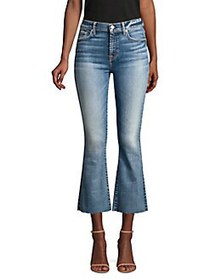 7 For All Mankind High-Rise Crop Kick Flare Jeans