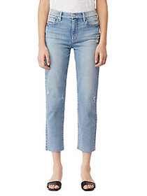 Habitual Pace High-Rise Straight Cropped Jeans VAR