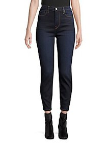 Hudson Jeans Holly High-Rise Cropped Jeans COSMO